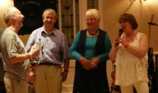 Bude & Stratton Folk Festival - Rob Bader Memorial presentation